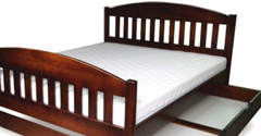 Łóżka z pojemnikiem
