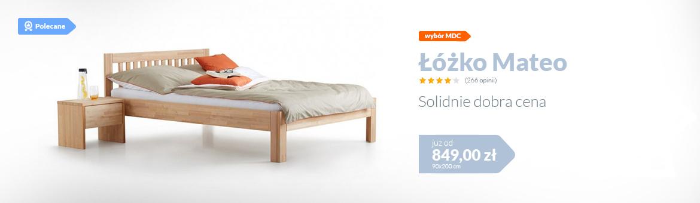 Łóżko Mateo