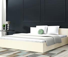 Łóżko z płyty MDF