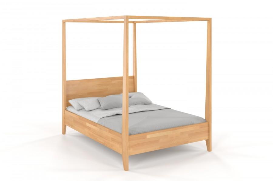 Łóżko drewniane bukowe KLARA naturalny
