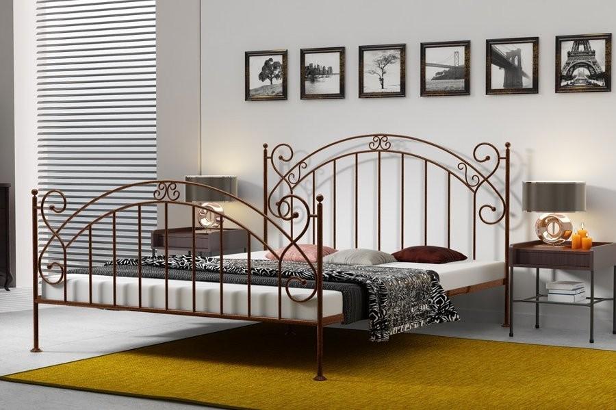 łóżko Kute Amara łóżka Kutemetalowe Materace Dla