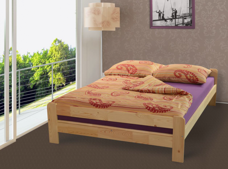 Łóżko drewniane Antonio