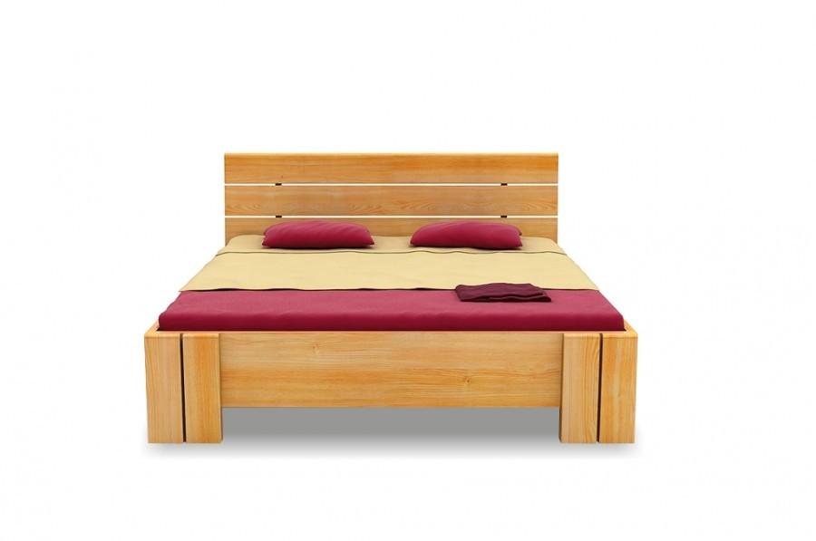 Łóżko drewniane Arhus High BC Sosna