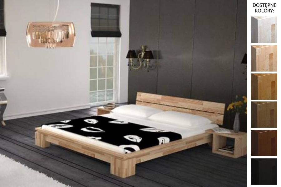 Łóżko drewniane Barcelona
