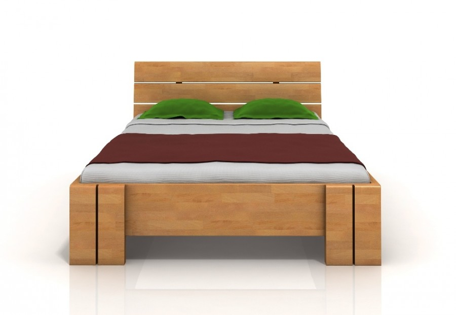 Łóżko drewniane Arhus High BC Buk
