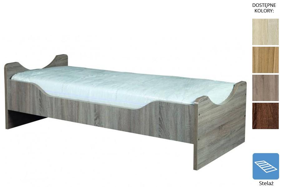 Łóżko z płyty Dallas