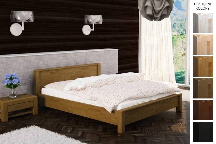 Łóżko drewniane Denver