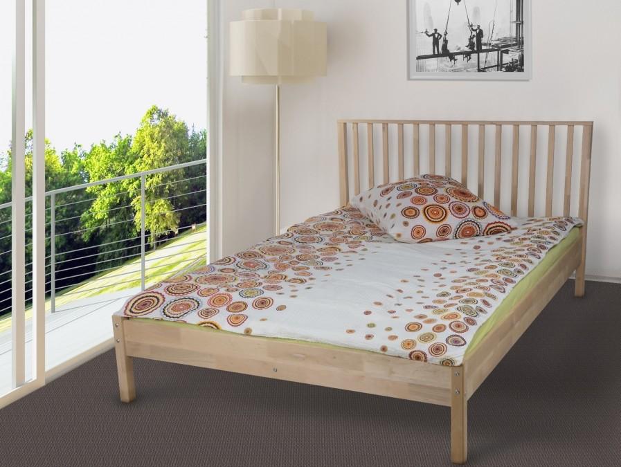 Łóżko drewniane Dorian
