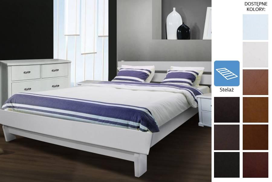 Łóżko drewniane Emmen
