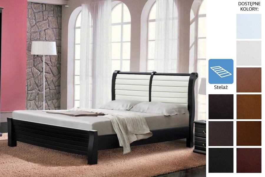 Łóżko drewniane Fidel