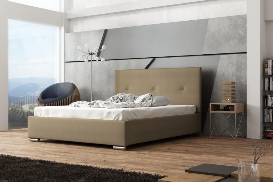 łóżko Tapicerowane Sierra łóżka Tapicerowane Materace