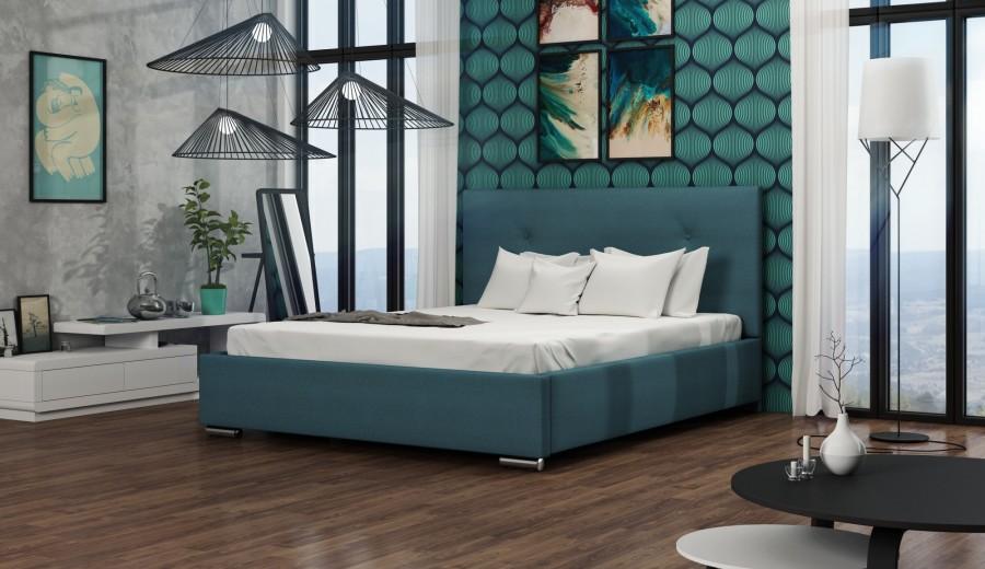 łóżko Tapicerowane Diego łóżka Tapicerowane Materace