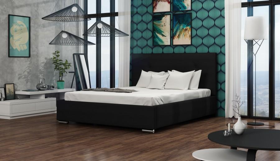 Łóżko tapicerowane Diego