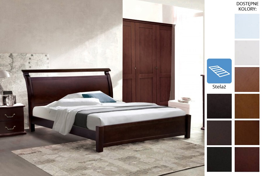 Łóżko drewniane Hengelo