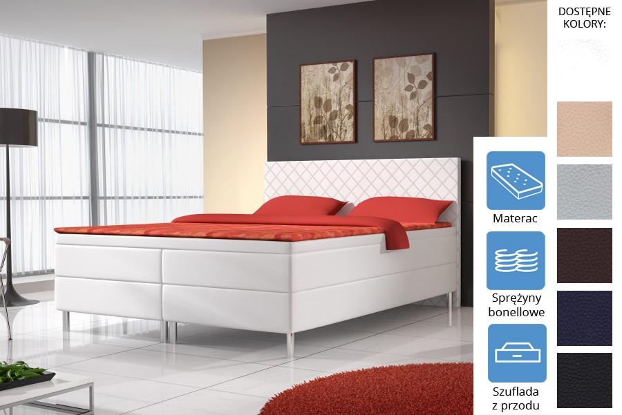 Łóżko Kalifornia z szufladami z przodu Bonell