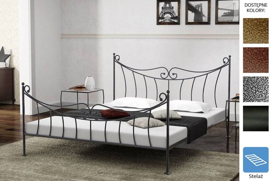Łóżko kute Kornel