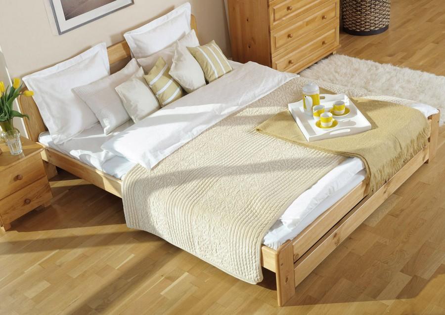 Łóżko drewniane Bukareszt