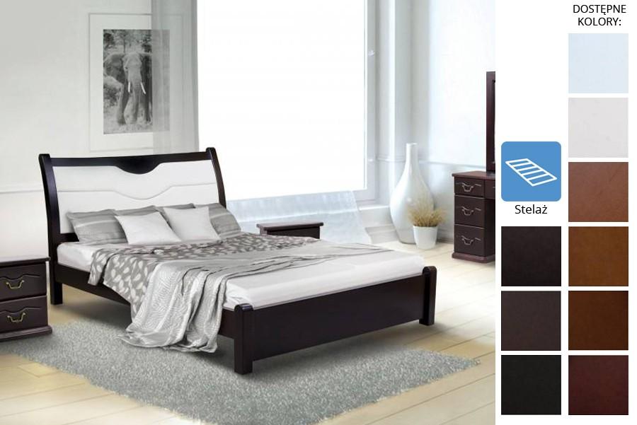 Łóżko drewniane Lisse