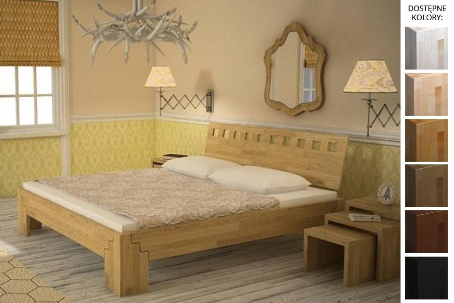 Łóżko drewniane Maroko