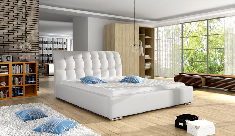 Łóżko tapicerowane Miluza