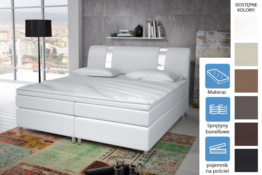 Łóżko Missisipi z pojemnikiem Bonell