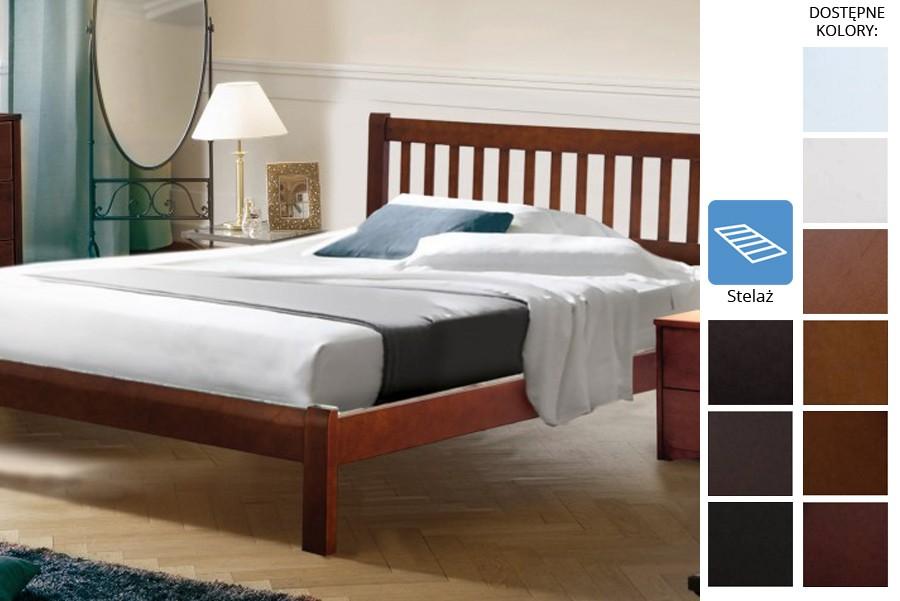 Łóżko drewniane Muden