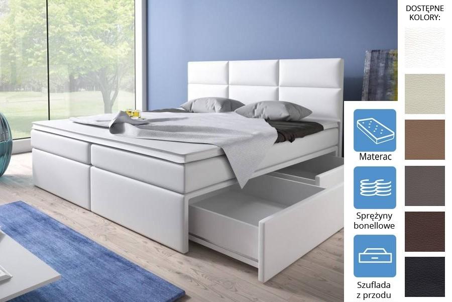 Łóżko Nevada z szufladami z przodu Bonell