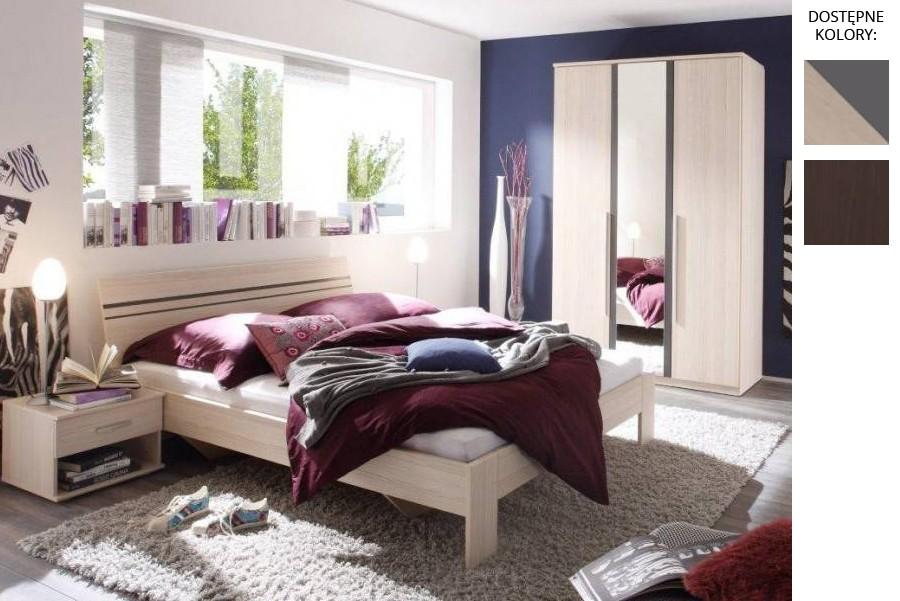 Łóżko z płyty Piker
