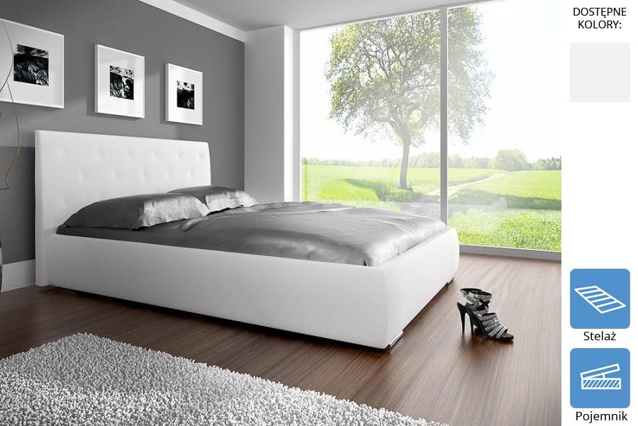 Łóżko tapicerowane Robert z pojemnikiem