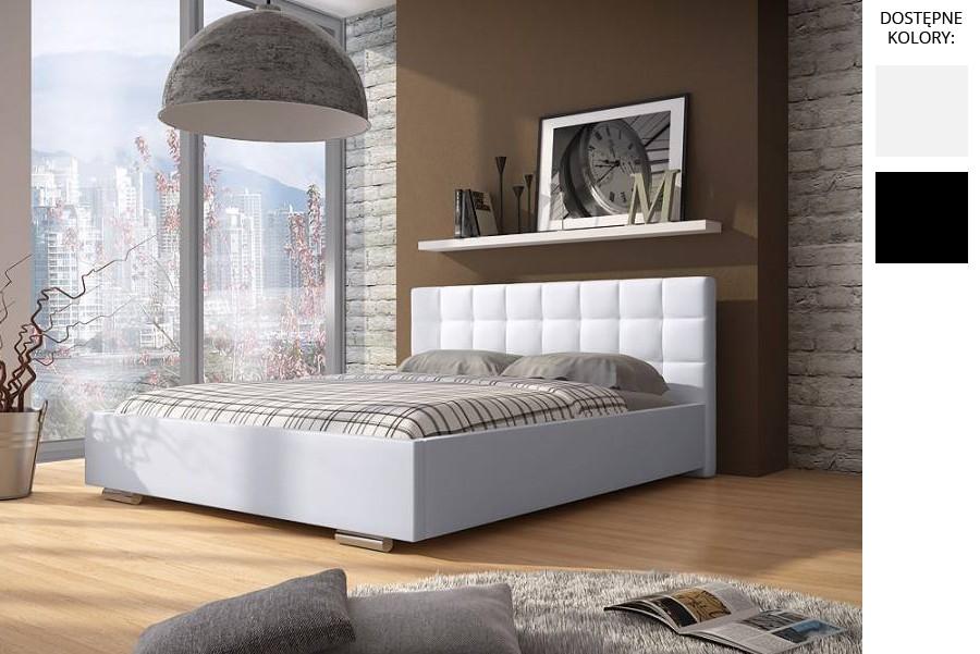Łóżko tapicerowane Roman