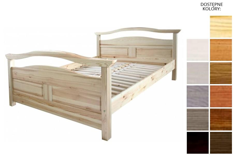 Łóżko drewniane Rotterdam