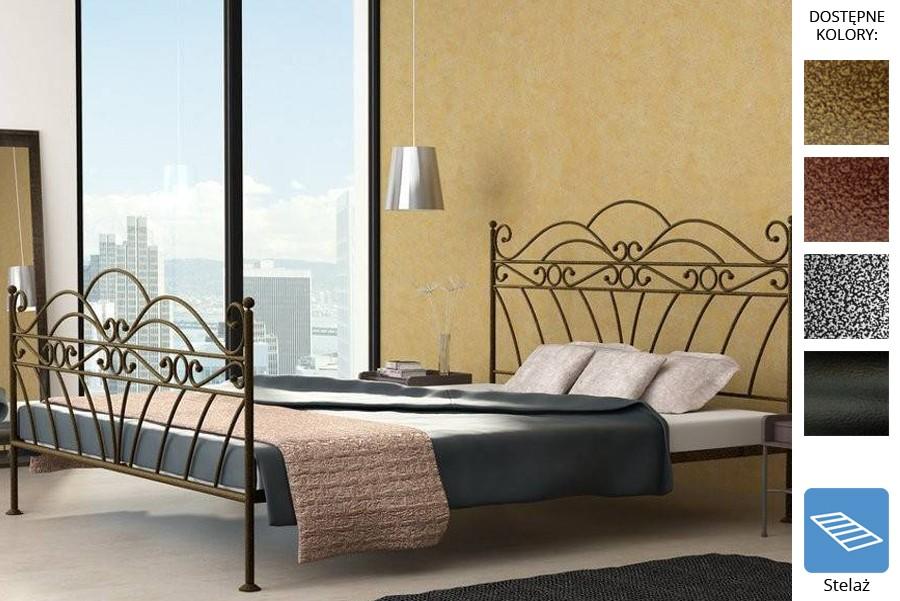 Łóżko kute Wiki