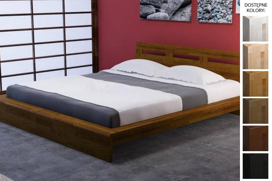 Łóżko drewniane Yoko