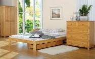Łóżko drewniane Adrianna z szufladą