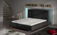 Łóżko tapicerowane Agen