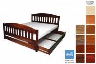 Łóżko drewniane Amida