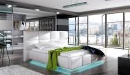 Łóżko tapicerowane Gard z pojemnikiem