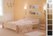 Łóżko drewniane Atena