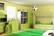 Sypialnia dziecięca Boisko Piłkarskie