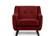 Fotel ADEL bordowy