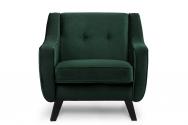 Fotel ADEL ciemny zielony