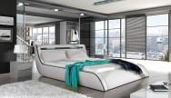 Łóżko tapicerowane Tarn z pojemnikiem