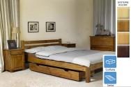 Łóżko drewniane Cypr z szufladą