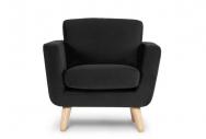 Fotel DINA czarny