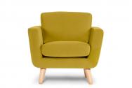 Fotel DINA żółty