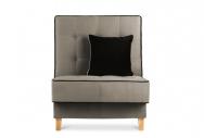 Fotel FLORENCE  beżowy/brązowy