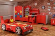 Sypialnia dziecięca Formuła 1