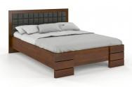 Łóżko drewniane Goti z pojemnikiem dąb rustikal