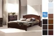 Łóżko drewniane Hulst