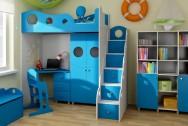 Sypialnia dziecięca Kapitan